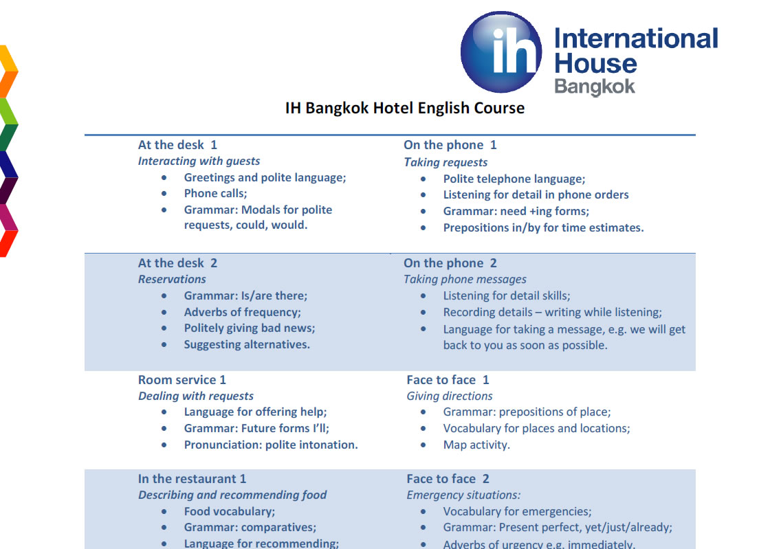 In-House Training for Your Business | IH Bangkok