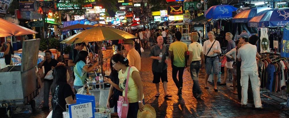 Around Khao San Road