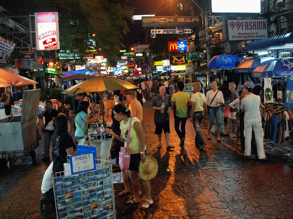 Around Khao San Road