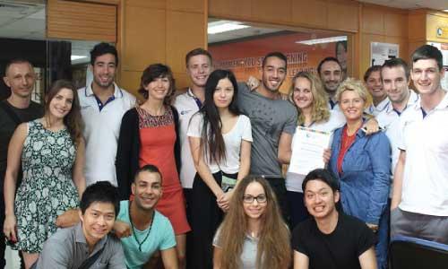 IH Bangkok English Students