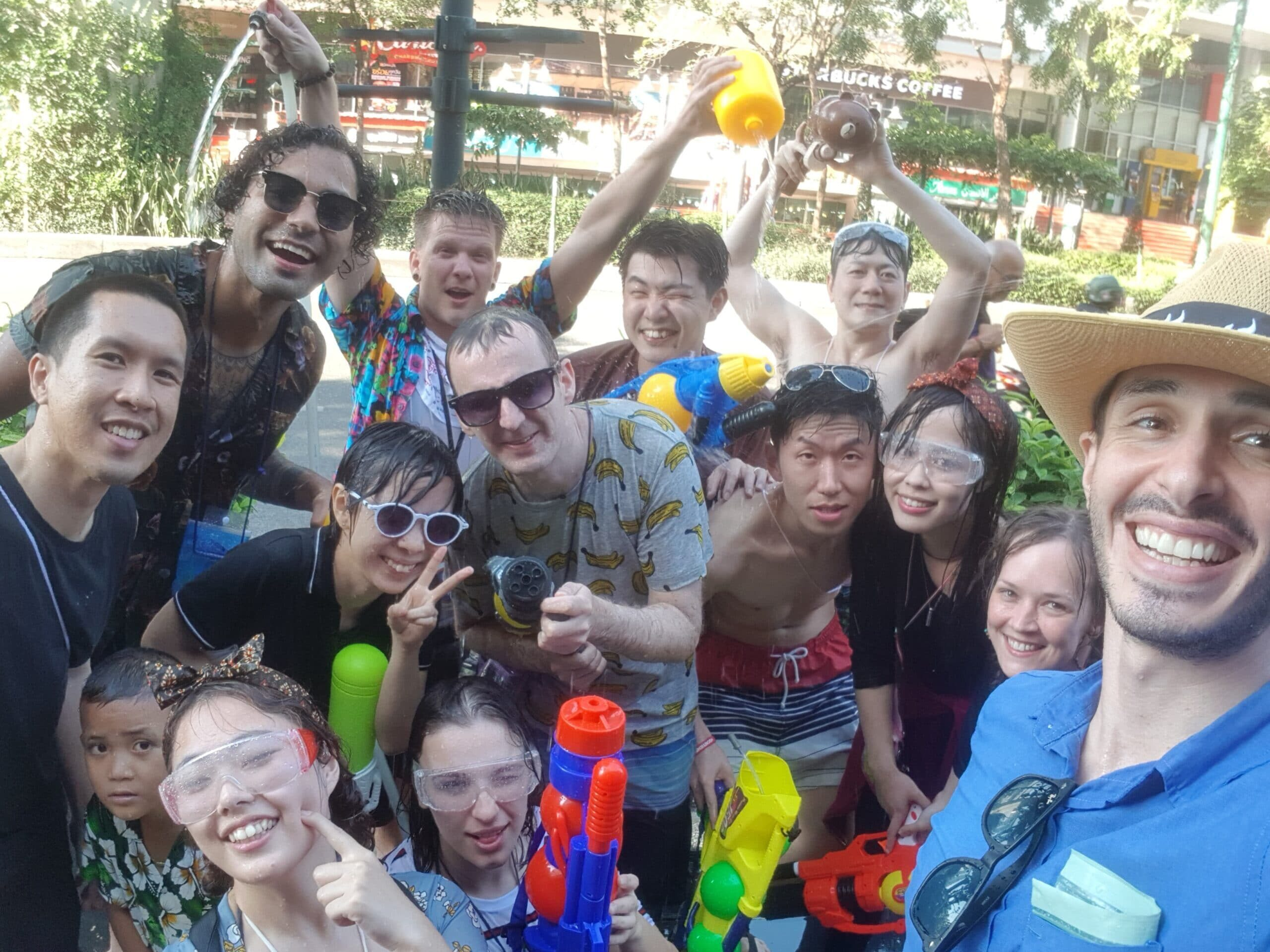 Study Holiday 4 – Songkran Festival