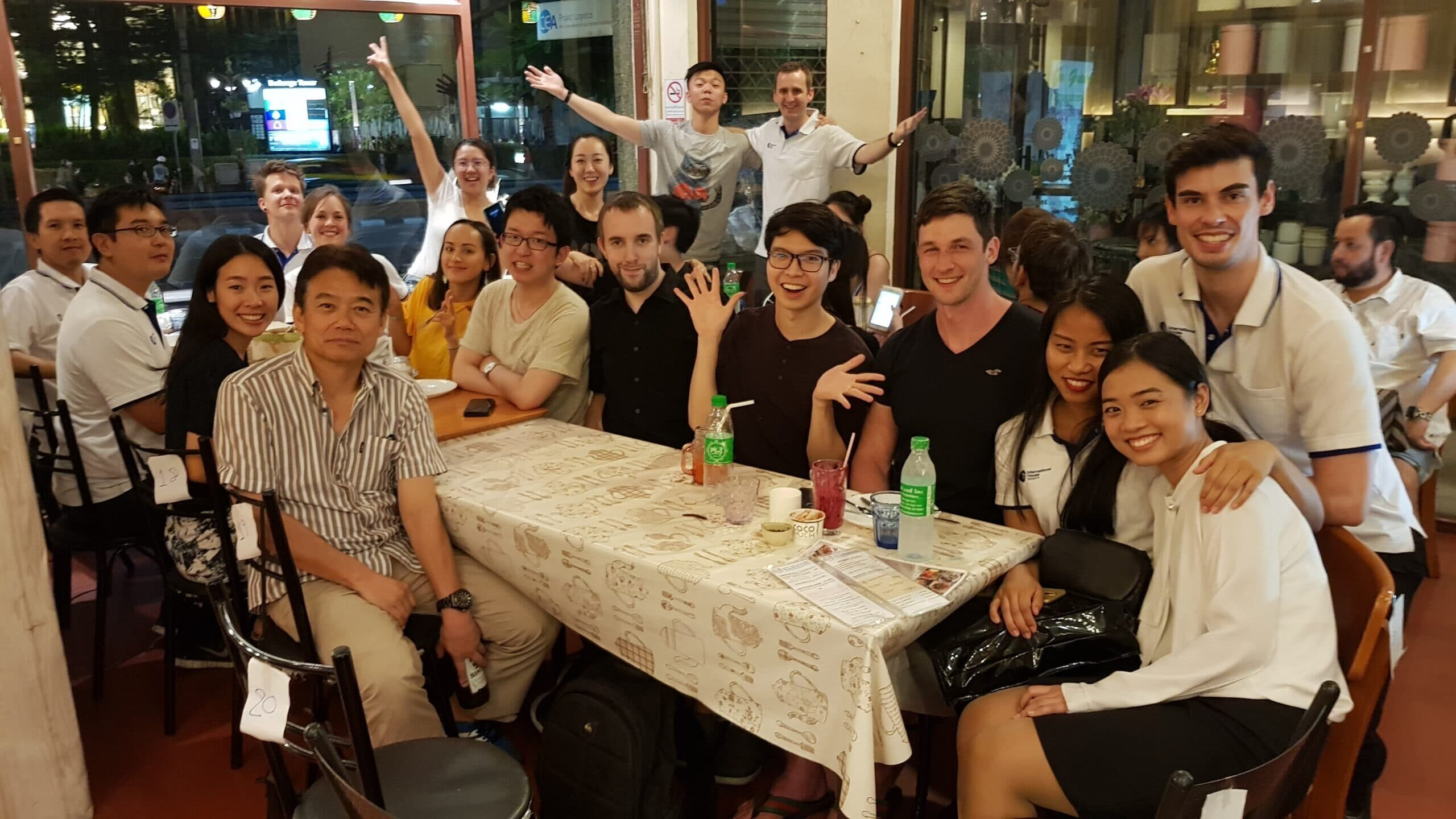 Study Holiday 6 – Social Dinner