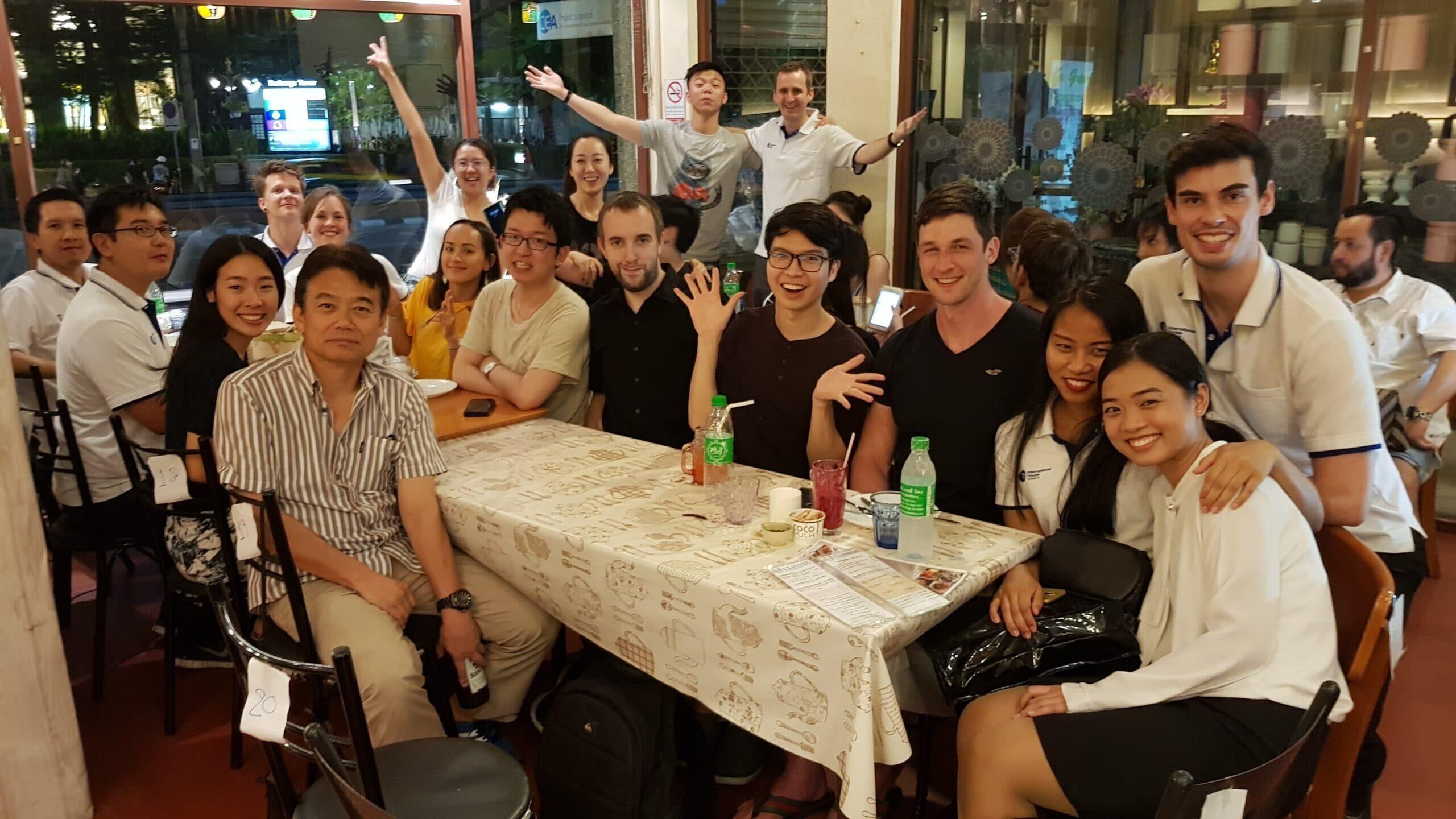 Study Holiday 6 – Social Dinner