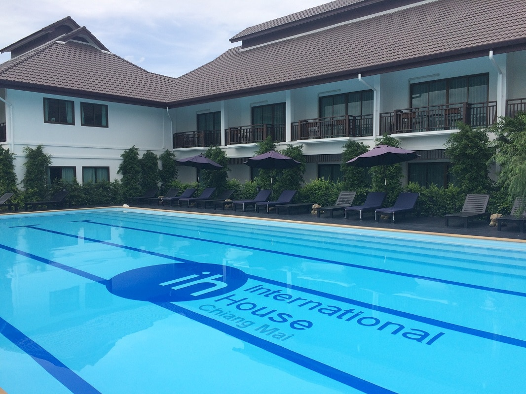 8. Accommodation + Pool 2 – IH Chiang Mai