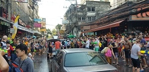 Study Holiday 5 – Songkran Festival